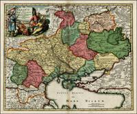 Ukrania Terra Cosaccorum, 1712