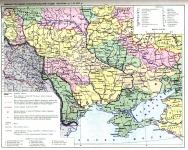 Україна: губернії та повіти 1917 р.