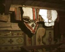 У гуцульській хаті