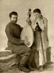 Михайло Кравченко з поводирем