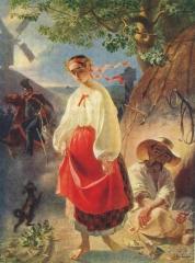 Тарас Шевченко. Катерина. 1842