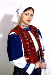 Жіноче вбрання Закарпаття