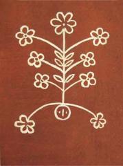 Розпис дверей лемківської хати