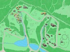 Загальна схема музейних Карпат у НМНАПУ