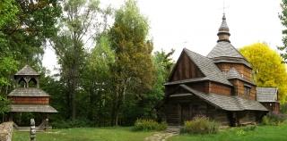 Дзвіниця і церква поч.19ст. з Тернопільщини, НМНАПУ