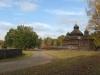 Краєвид з церквою 1789 р. з Рівненщини, НМНАПУ