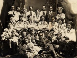 Громадяни с.Лип'янки,1914 р.
