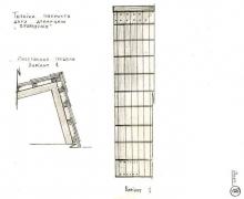 Лист 9. Покриття даху драницею в румунку