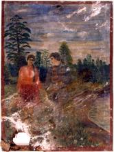 Солдат з дівчиною. Ж-11