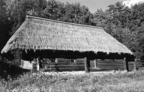 Хата кін.19 ст. з Бойківщини, НМНАПУ