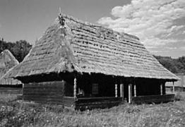 Хата 1909 р. з Бойківщини, НМНАПУ