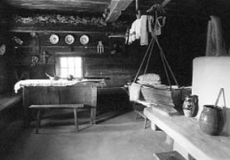 У хаті 1841 р. з Бойківщини, НМНАПУ