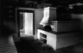 У хаті 19 ст. з Буковини, НМНАПУ