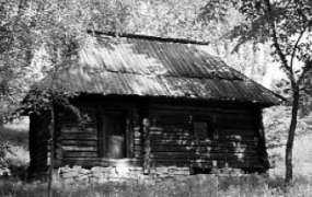 Хата-бУхня поч.20 ст. з Гуцульщини, НМНАПУ