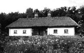Хата кін.19 ст. з Київщини, НМНАПУ