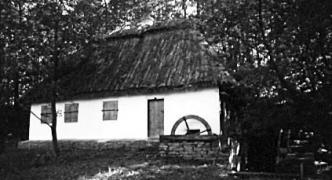 Млин-хата поч.20 ст. з Чернівецької обл., НМНАПУ