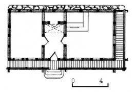 Хата кін.19 ст. з Хмельниччини, НМНАПУ