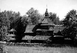 Церква Св.Миколая 1817 р. з Тернопільщини, НМНАПУ