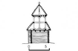 Дзвіниця 1777 р. з Рівненщини, НМНАПУ