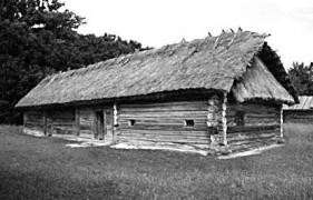 Хата поч.19 ст. з Рівненщини, НМНАПУ