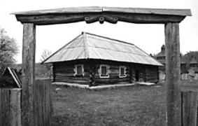 Хата кін.18 – 19 ст. з Житомирщини, НМНАПУ