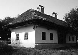 Хата кін.19 ст. з Полтавщини, НМНАПУ